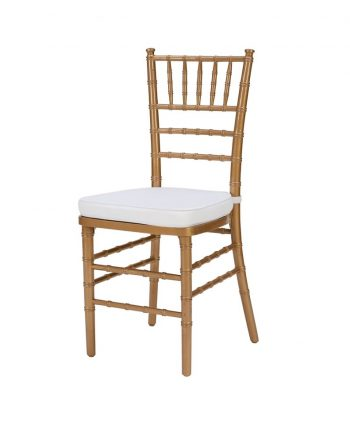 Steel Core Gold Chiavari Chair