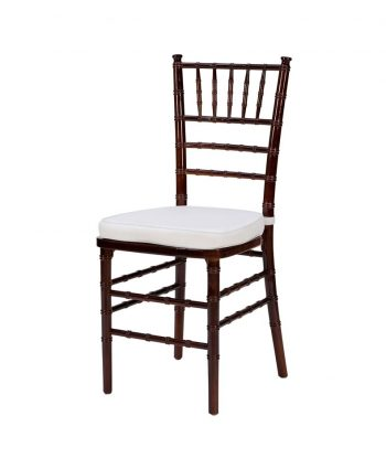 Steel Core Mahagony Chiavari Chair