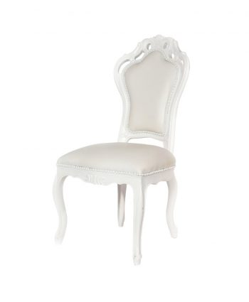 White Dynasty Chair