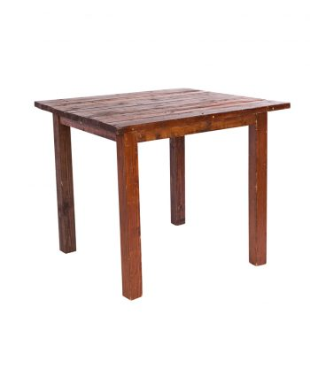 3' X 3' Mahogany Farm Tables