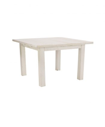 4'X4' Whitewashed Farm Table