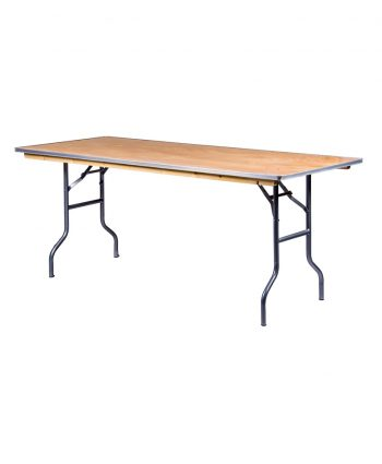 6' Rectangle Banquet Table