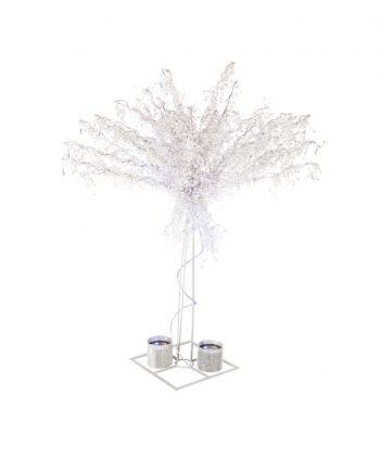 8' Crystal Trees