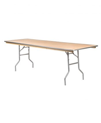 "8' x 30"" Rectangle Banquet Table"