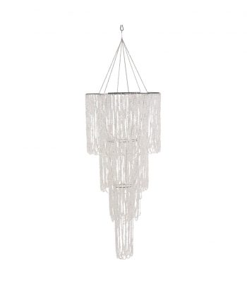 Bling Crystal Draped Chandelier Multi-Tiered