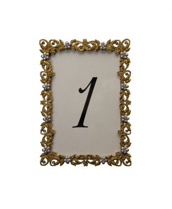 Flazen Gold Table Number