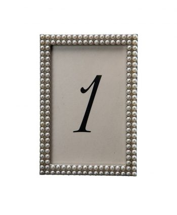 More Pearls Table Number