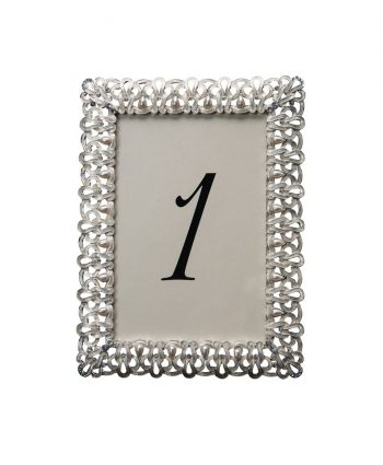 Past Times White Table Number