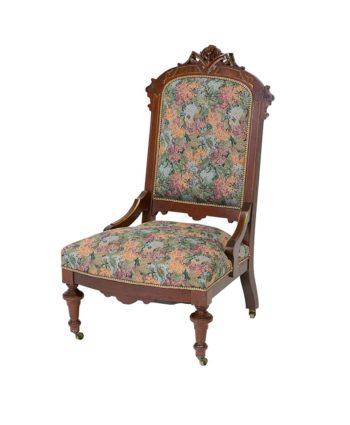 The Geraldine Armless Chair