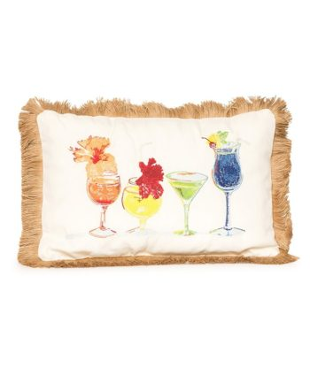 Cocktail Time Pillow