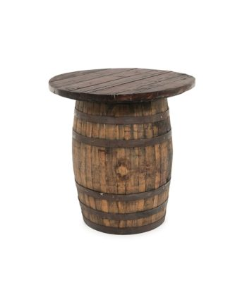 The Round Wine - Whiskey Barrel Topper