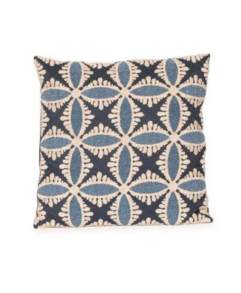 Blue Kaleidoscope Pillow