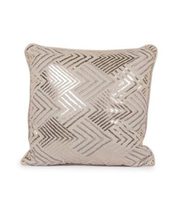 Gold Geometric Pillow