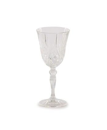 Grace Etched Red Wine Glass