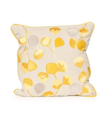 Yellow Bloom Pillow